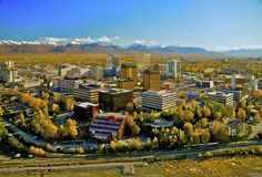Welcome to Anchorage, Alaska!    Photo by: Frank Flavin