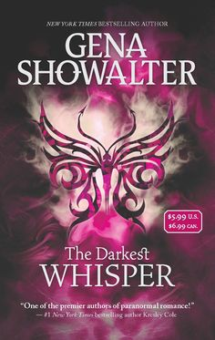 Lords of the Underworld Series by Gena Showalter - Paranormal Romance - So hot LOL