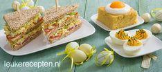 10 lekkere paasrecepten zoals paasbrood, gevulde eieren, sandwich met eiersalade en paascake