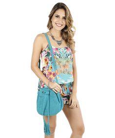 Bolsa Saco Adriana Barra Azul - cea