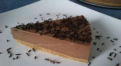 Tarta de chocolate con cuajada [Thermomix]