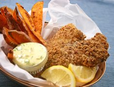 Pretzel-Crusted Fish Fillets from our newsletter -- quick and easy! Try this great crunchy crust on shrimp or chicken, too.