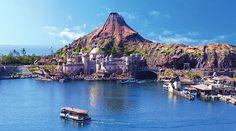 Tokyo DisneySea is a fantasy theme park in Tokyo Disney Resort that is unique to Japan.