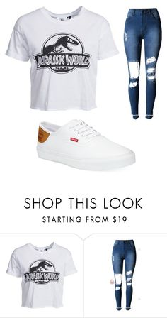 """JP girl addition"" by hollywoodniya on Polyvore featuring New Look and Levi's"