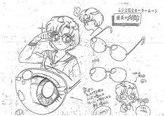 Sailor Moon Settei Sheet, Ami