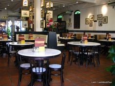 Old Town White Coffee branch in Penang, Malaysia