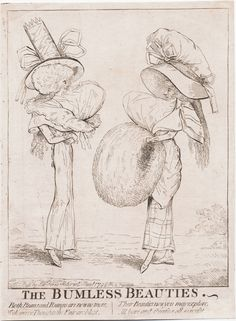 788.01.01.01 The bumless beauties [London] : Pubd. by S.W. Fores, Satirist, Jany. 1788.