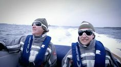 """""""Two idiots at sea"""" - Jeremy Clarkson"""