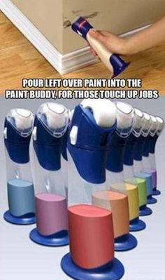 Leftover paint. This is awesome