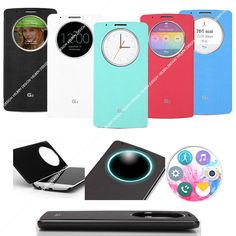 Genuine Brand New Hands-on Quick Circle view flip case cover for LG G3 -Fashion-