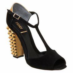 Fendi Polifonia T-Strap Sandal at Barneys.com