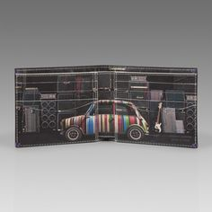 Paul Smith Wallets | Mini With Speakers Print Billfold Wallet | Not Normal | Miniac | MINI cooper |  Mini Love | MINI cooper accessories | Car | Schomp MINI