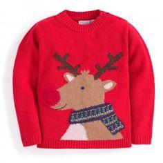 Reindeer Cashmere Mix Sweater