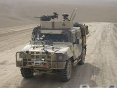 """Iveco LMV Lince of the 4th Regiment. """"Monte Cervino"""", during an activity of patroling in Bala Murghab(Badghis province) in Afghanistan. You may notice the typical desert coloring vehicles serving in TF45 including identification symbols for the units that make up the task force mentioned."""
