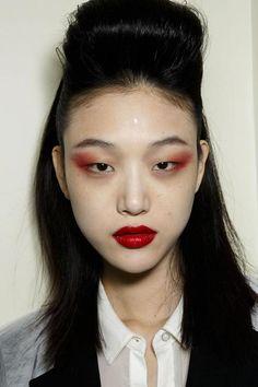 Choi Sora at Jean Paul Gaultier Haute Couture F/W 14.15 Paris