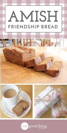 Amish Friendship Bread, make some for yourself and share the rest with your friends. More at onegoodthing.com