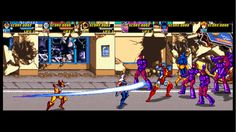 X-Men Arcade Game. Awesome. :)