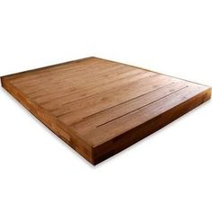 modern platform bed - Make with matching headboard