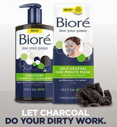 Charcoal is a magnet to your pores, attracting the dirt and oil stuck inside them! By putting this into a cleanser, it washes out all that gross stuff leaving a clean poreless face I love this cleanser and recommend it for anyone who wears makeup on an everyday basis, who has acne or pimples or anyone who wants a deep clean that doesn't dry out your face! I would recommend following the wash up with a lotion because the pores are open to germs and it could lead to dry patches on your face
