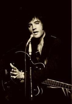 Elvis could make a cavernous room feel intimate, and every woman feel as if he were singing just to her.  It's Elvis Week on TheDonRocks.com! July 20 - 24, 2015