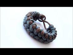 "Paracord Bracelet: ""Clove And Dagger"" Bracelet Design Without Buckle - YouTube"