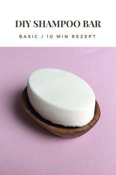 Einfaches festes Shampoo Dieses Rezept besteht nur aus drei Zutaten. Zerowaste - Shampoo braucht keine Verpackung!
