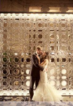 Ritz Carliton Wedding, Art Deco Wedding Images, Romantic