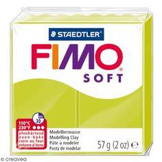 Fimo soft Citron vert 52 - 57 gr - Photo n°1