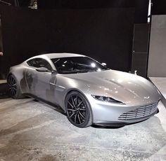 Aston Martin DB10 - James Bond 'Spectre'. The sleek design is so cool
