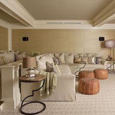 Basement Movie Room Ideas, Transitional, Basement, Anik Pearson Architect