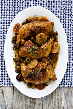 Mediterranean Chicken by tartineandapronstring #Chicken #Mediterranean