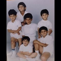 Ahmed, Hamdan, Rashid, Majid, Maktoum e Saeed
