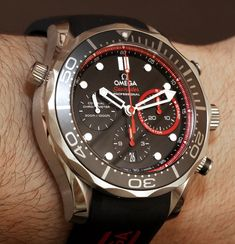 Omega Seamaster 300M Co-Axial Chronograph ETNZ Limited Edition Watch Hands-On
