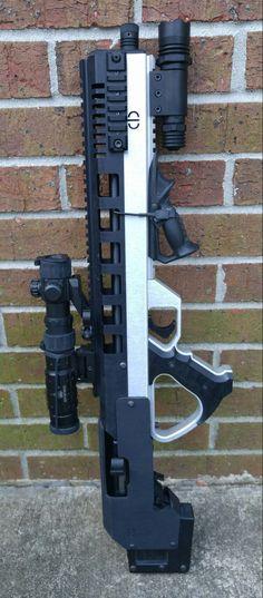 weaponslover: Ruger 10/22 with CBRPS Raptor kit -