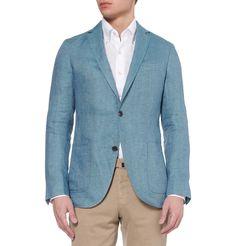 Richard JamesSpirit Slim-Fit Linen Suit Jacket|MR PORTER