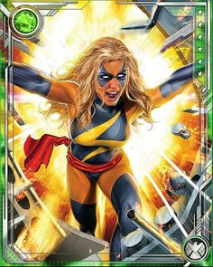 Ms Marvel by Greg Horn Ms Marvel Captain Marvel, Miss Marvel, Captain Marvel Carol Danvers, Marvel Heroines, Comic Book Heroines, Female Comic Characters, Marvel Comic Character, Marvel Comics Art, Comic Art