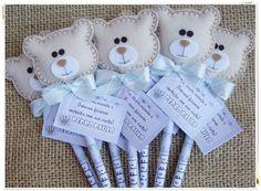 20 Lembrancinha Maternidade Aniversário Nascimento Cha Lápis