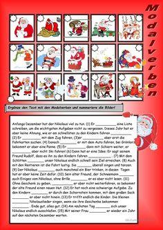 Modalverben mit dem Nikolaus