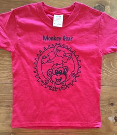 A personal favorite from my Etsy shop https://www.etsy.com/listing/400996541/toddler-unisex-monkey-gear-t-shirt-cute