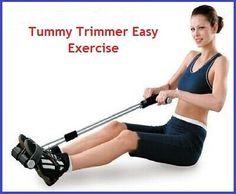 Tummy Trimmer Easy Exercise Unisex Home Gym Equipment Workout Fitness Steel Coil Home Gym Equipment, No Equipment Workout, Fitness Equipment, Easy Workouts, At Home Workouts, Ab Trainer, Abdominal Exercises, Scoliosis Exercises, At Home Gym