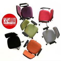¿Te aburres en la #oficina? Ponle color a tus horas de trabajo con #muebles y #sillas de oficina de colores #blog http://papeleria-segarra.blogspot.com.es/2016/05/color-en-la-oficina-sillas-de-oficina.html