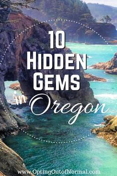 We love Oregon! If you're taking a road trip or vacation to Oregon, make sure you travel to some of the off the beaten path and hidden places too. Looking for things to do in Oregon? Everyone loves Portland and Crater Lake but there are some quiet, hidden places too. The best destinations to add to your bucket list this year, are the hidden gems in the quiet, remote locations. Bring the kids! You'll love the coast! #oregon #rvlife #drycamping #boondocking #travel #hiddengems… Oregon Coast Camping, Oregon Travel, Texas Travel, Travel Usa, Travel Tips, Usa Places To Visit, Beautiful Places To Visit, Places To See, Places In Europe