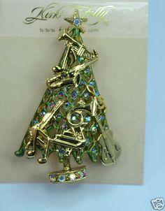 Kirks Folly Sounds of The Season Christmas Tree Pin Enhancer