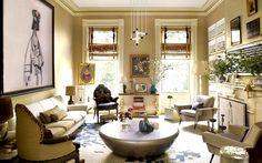 Salones frescos y luminosos para el té o el brunch | Espaciodeco - decoración de interiores