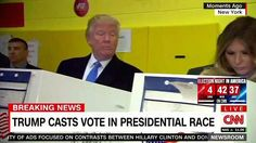#Trump spying on his wife during the voting exercise. Trust issues mehn  #election2016 #USElection #Steevane #SV