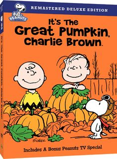 Charlie Brown/Peanuts Specials - It's the Great Pumpkin Remastered Deluxe Edition DVD, Charlie Brown!