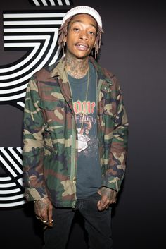Wiz Khalifa at the 2015 Grammys After Party. [Photo by Katie Jones]
