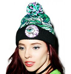 Mishka Keep Watch Mr. Nice Guy Beanie