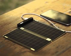 Solar Paper is a Lightweight and Expandable Solar Charger