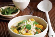 Chicken and Pumpkin red curry